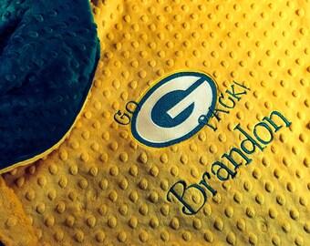 FLIP Blanket 2 Teams Green Bay Packers NFL