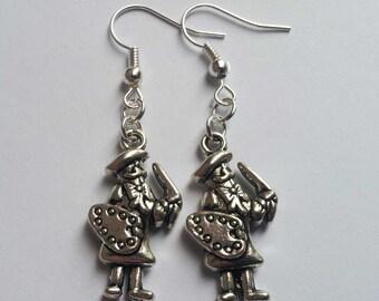 Artist Earrings , Silver Earrings , Artist Jewellery , Artist Jewelry , Handmade Jewellery , Handmade Jewelry , Boho Gift