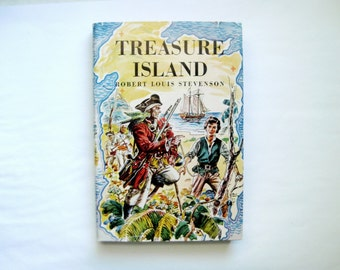 Still More Bright and Beautiful Junior Deluxe Classic Tales: Treasure Island, Robert Louis Stevenson, 1954 First Edition