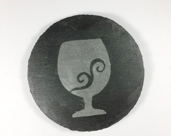 Wine Drink Coasters, Slate Coasters, Wine Drink Coasters, Stone Coasters, Natural Stone Drink Coasters, Wedding Gift, Shower Gift