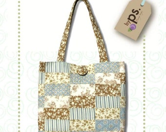 Penny Sturges Weekender Tote  Purse Tote Pattern By Quilts Illustrated - ps009 - FREE DOMESTIC SHIPPING