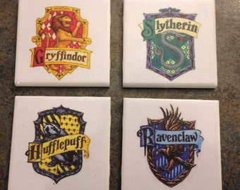 Harry Potter Coasters - set of 4