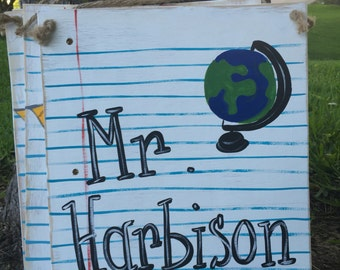 Teacher Name Sign social studies math science