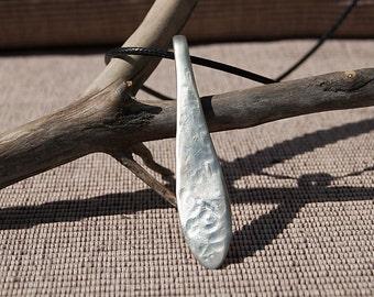 Silverware Handle Necklace - NL017