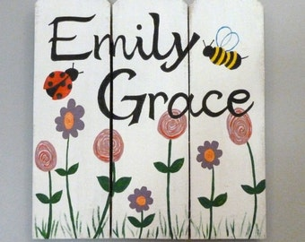 Custom hand painted sign (made to order)
