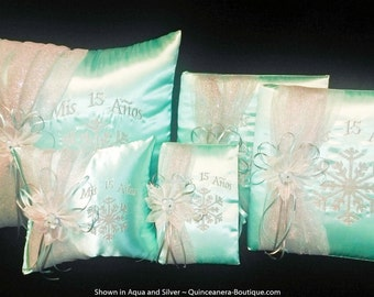 Snowflake Magic Quinceanera Set