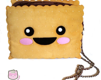 Cookie sandwich cross body bag