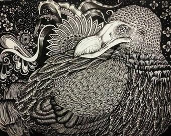 Dodo's Mojo (A4 Original)