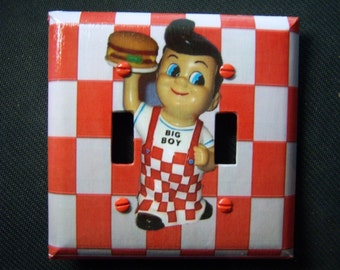 Light Switch Cover Big Boy Restaurant Double Toggle