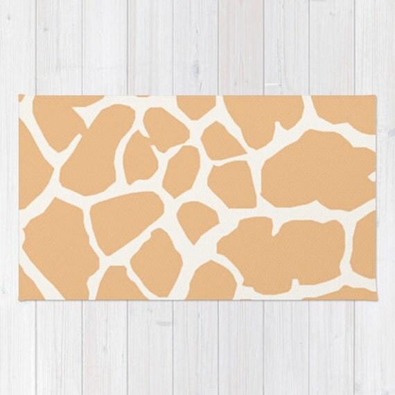 Giraffe Print Area Rug 2x3 Rug Giraffe Living Room 3x5 Rug 4x6
