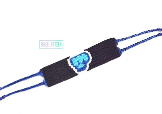 knotted pewdiepie bro fist logo bracelet by shop315 on etsy