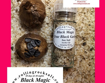 Black Garlic Sea Salt
