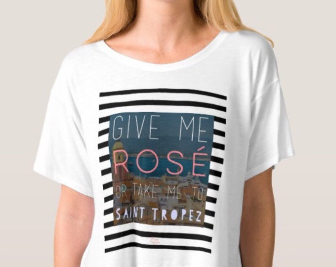 Rosé St. Tropez Flowy Top