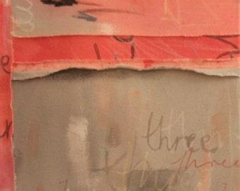 Three, 2016 Painting on calico