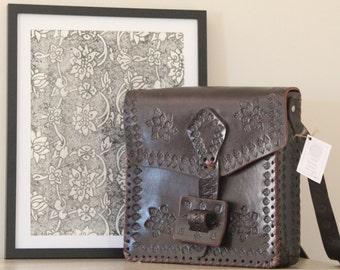 Vintage/Boho Leather Bag ON SALE NOW