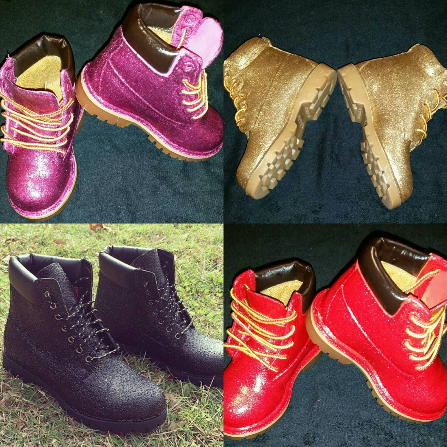 Shoes | Authentic Customized Spiked Timberlands | Poshmark
