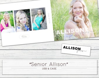 "USB Case ""Senior Allison"" WHCC"