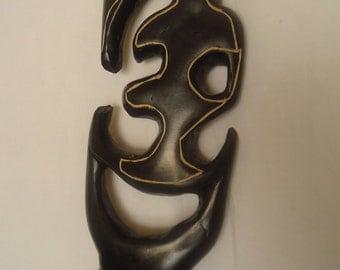 GYE NYAME Wood Sculpture