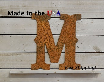 "8"" Letter, Western Letter, Metal Letter, Indoor/Outdoor, Kids Room, Nursery Decor, Letter, Single Letter, Bedroom Decor, House Decor, F1004"