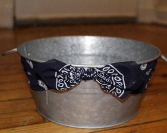 Bandana Galvanized Round Bucket