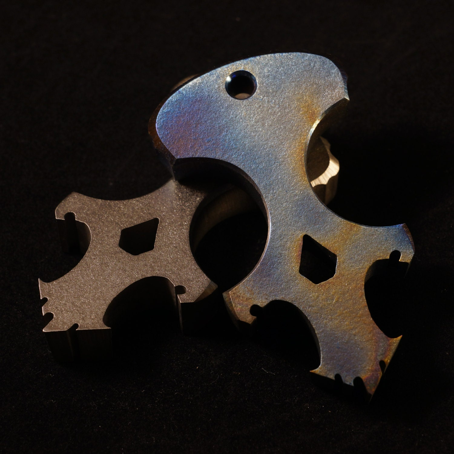 SALE Titanium Skully Dagger/Bottle Opener