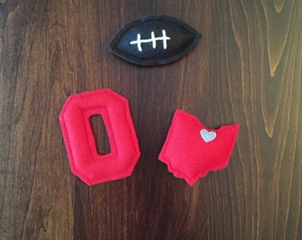 Ohio Football Cat Toys - State of Ohio Football Catnip Cat Toys - Organic Catnip