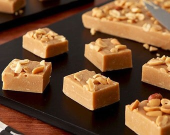 Homemade Fudge, Peanut Butter Flavour, Made to Order - 100g to 1kg