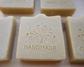 BUFFALO MILK SOAP - Handmade Buffalo milk soap - Home made soap - Organic soap - Buffalo milk soap with citronella and lemon essential oil
