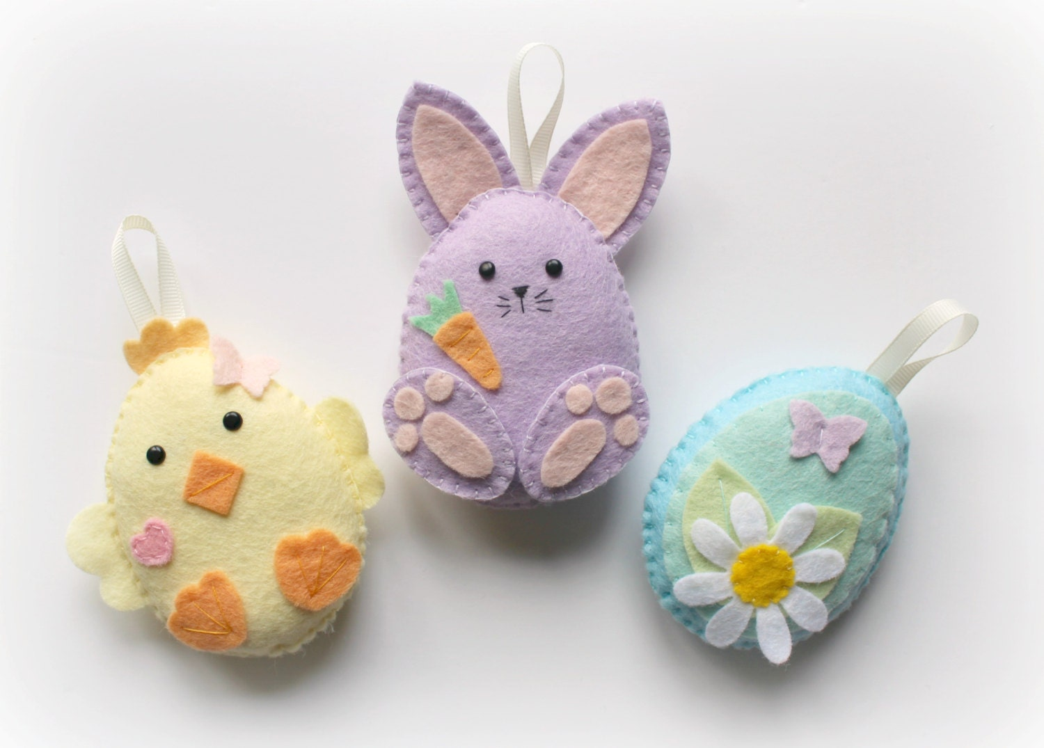 Make your own felt easter friends garland kit easter decorations 2596 negle Gallery