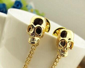 skull collar clip