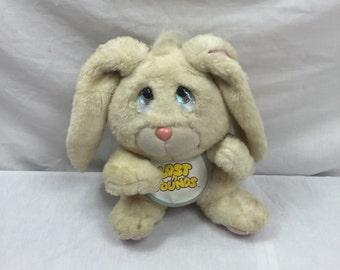 Lost 'n Founds Bunny Rabbit Plush 1989 Galoob