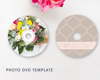 DVD Design for Photographers, Wedding Photographer Templates, Photographer Templates, Photoshop Templates, PSD Designs