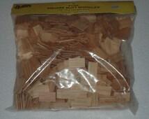 Miniature dollhouse building supplies square butt roof shingles 1000pcs