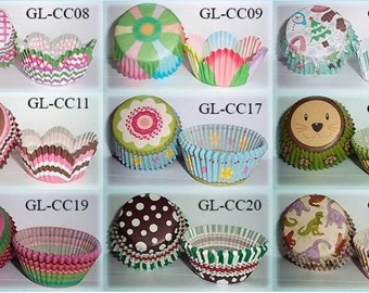 Free Worldwide Shipping – Baking Cups – 50 pcs.