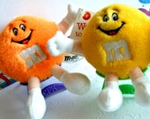 M&M's Plush Toy Fun Friend, Mars Inc., Mary Meyer Corp 1994 (List Price is for One Plush of Choice)