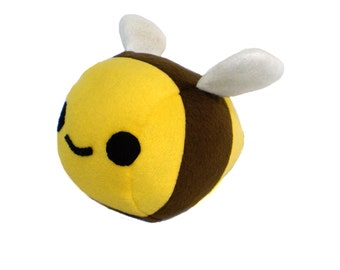 Sewing Pattern - Plush Bumble Bee Stuffed Animal - Pattern PDF