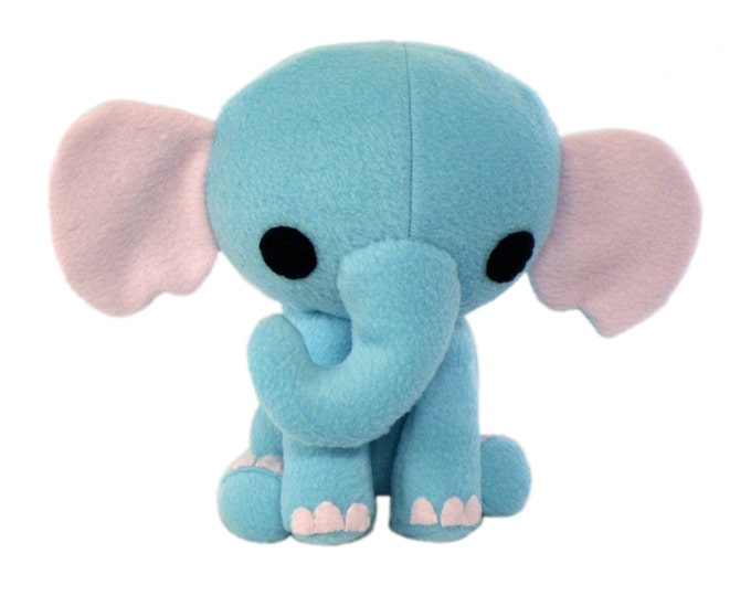 Elephant Stuffed Animal Pattern