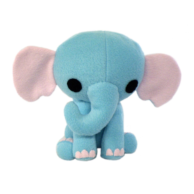 Elephant Stuffed Toy : Elephant stuffed animal pattern toy sewing