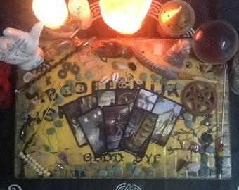 Steampunk Tarot 3 Card Reading