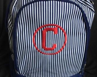 Monogrammed Backpack/ Monogram Preschool Backpack/ Monogram Backpack