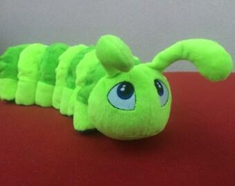 Plush Caterpillar