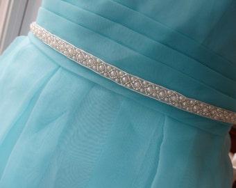Wedding Sashes, Bridal Sashes, Bridesmaid sashes,Wedding sash belts, Pearl Beads Belt, Pearl Sash, Bridal Sash, Ivory Sash, Beaded Sash