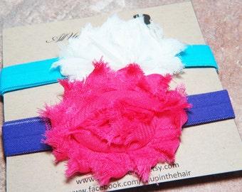 Infant Headbands - Baby Headbands - Pink Baby Headband - Blue Baby Headband - Purple Baby Headband