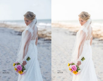 Lightroom Wedding Photography Preset, Light & Airy Edit