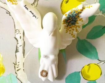 Ceramic Dove - Divino -Divino Espirito Santo - Ceramics and Pottery - Home Decor - Holy Spirit