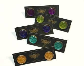 Sparkly Glitter Earrings