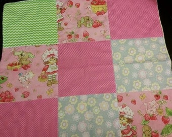 Strawberry Shortcake security blanket 16 inches