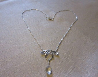 Aquamarine Elvin necklace
