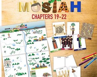 Book of Mormon Lessons: Mosiah 19-22