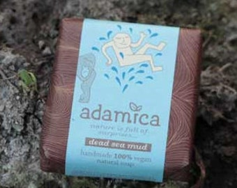 Dead Sea Mud Handmade Organic Vegan Soap
